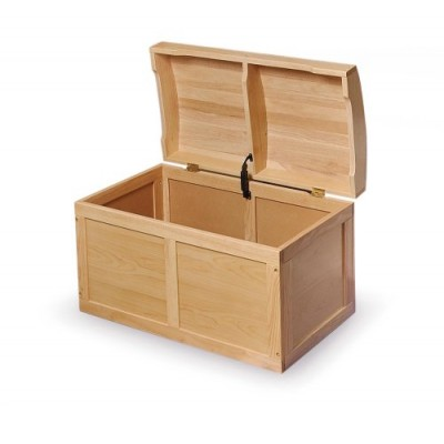 Badger Basket Barrel Top Toy Box, Natural