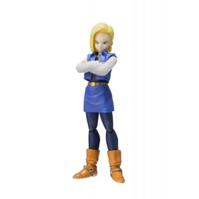 "Bandai Tamashii Nations S.H.Figuarts Android 18 ""Dragon Ball Z"" Action Figure"
