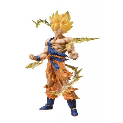 "Bandai Tamashii Nations Super Saiyan Goku ""Dragonball Z"" Figuarts ZERO Action Figure"