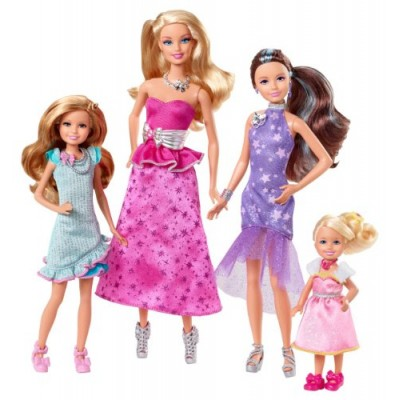 Barbie and Her Sisters in a Pony Tale Gala Gown Giftset