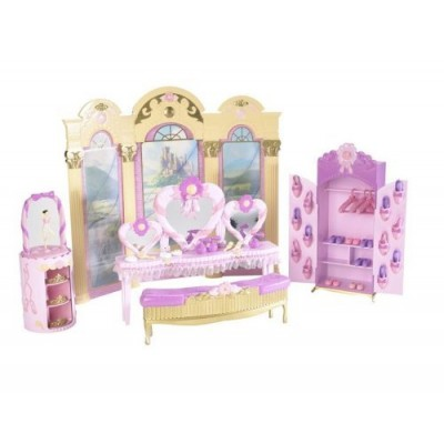 Barbie And The 12 Dancing Princesses Princess Vanity Playset