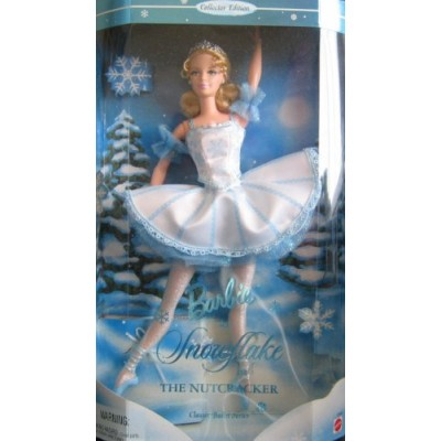 "Barbie As Snowflake in The Nutcracker 12"" Collector Doll"
