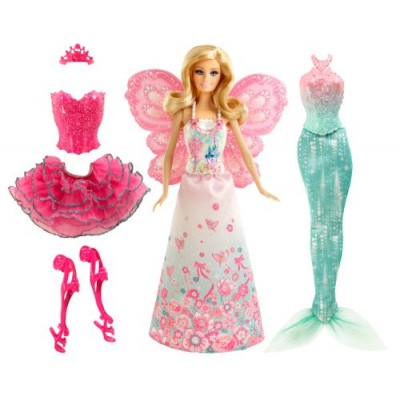 Barbie Fairytale Mix and Match Dress Up Playset