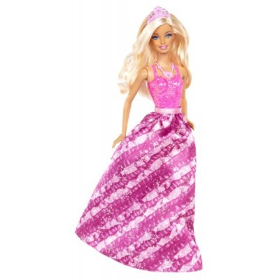 Barbie Fairytale Princess Fashion Doll, Pink and Purple