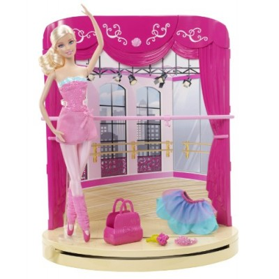 Barbie in the Pink Shoes Ballet Studio Playset