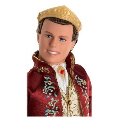 """Barbie Ken As """"Princess and the Pauper"""" King Dominick Doll (2004)"""
