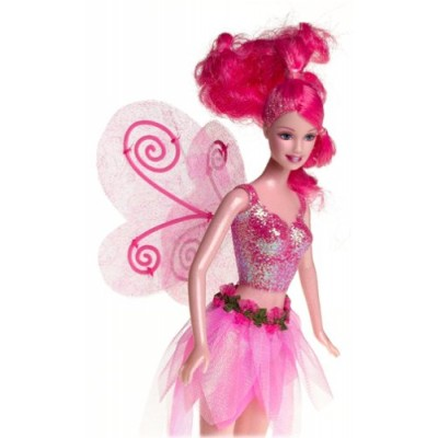 Barbie Pink Sparkle Fairy Fairytopia
