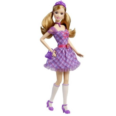 Barbie Princess Charm School: School Girl Princess Delancy Doll