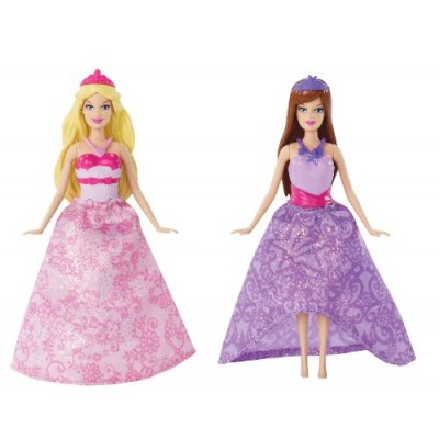 Barbie The Princess and The Popstar Mini-Doll Giftset
