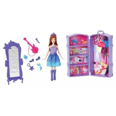 Barbie The Princess and The Popstar Mini-Doll Scene Keira Doll