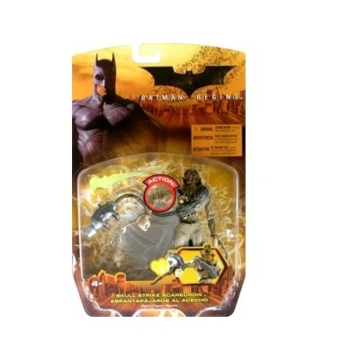 Batman Begins Movie, Skull Strike Scarecrow Action Figure