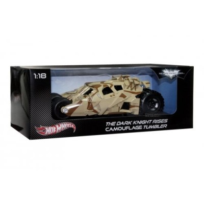 Batman Dark Knight Rises Camo Tumbler Hot Wheels Heritage Car Vehicle