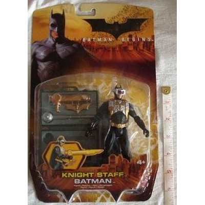 BATMAN BEGINS:KNIGHT STAFF ACTION FIGURE