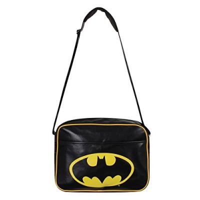 Batman Classic Logo Messenger Bag (Black)