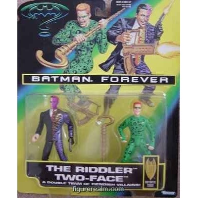 Batman Forever Riddler and Two-face 2-pack Action Figure Set