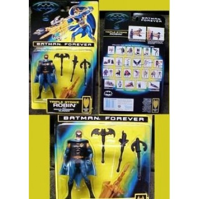 Batman Forever Triple Strike Robin with Multi Cannon Slinger