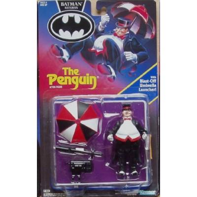 """BATMAN RETURNS """" THE PENGUIN """" w/ BLAST-OFF UMBRELLA LAUNCHER MOC"""