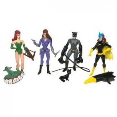 Batman - The Girls of Gotham City Set - Batgirl, Talia, Catwoman, Poison Ivy