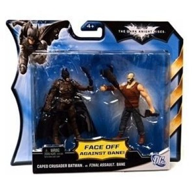 Mattel DC Batman Dark Knight Rises Movie Action Figure 2Pack Batman Bane