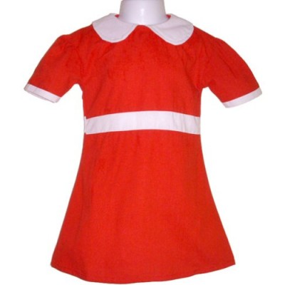 BdayParties Little Orphan Annie Dress Costume Child, X-Large 8-10 NIP, Red