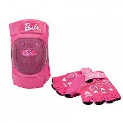 Barbie Bike Knee Pad and Glove Set