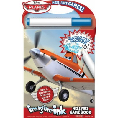 Bendon Publishing Disney Planes Imagine Ink Mess Free Game Book