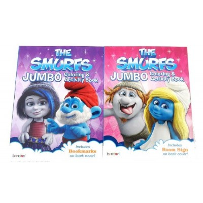 The Smurfs 2 Movie Coloring Books (2 Books)