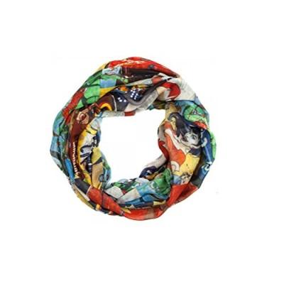 DC Comics Bombshells Viscose Infinity Scarf