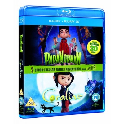 Paranorman/Coraline (Blu-ray 3D / Blu-ray)