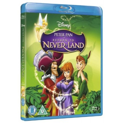 Peter Pan 2: Return to Neverland [Blu-ray] (Region Free)