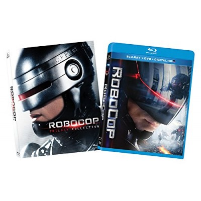 Robocop Trilogy and Robocop 2014 [Blu-ray]