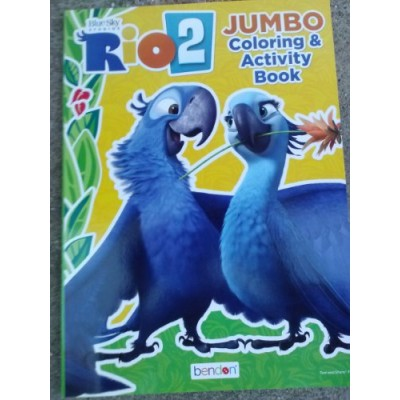 Rio 2 Jumbo Coloring & Activity Book (96 Pages) Assorted, Designs Vary
