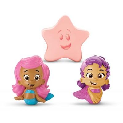 Fisher-Price Nickelodeon Bubble Guppies Molly, Oona, Starfish Bath Squirters