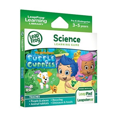 LeapFrog Learning Game: Bubble Guppies (for LeapPad Tablets and LeapsterGS)