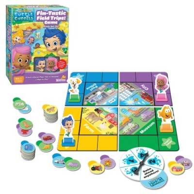 Nickelodeon Bubble Guppies Fin-Tastic Field Trips Board Game