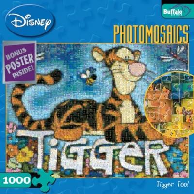 Buffalo Games Disney Photomosaic: Tigger TOO