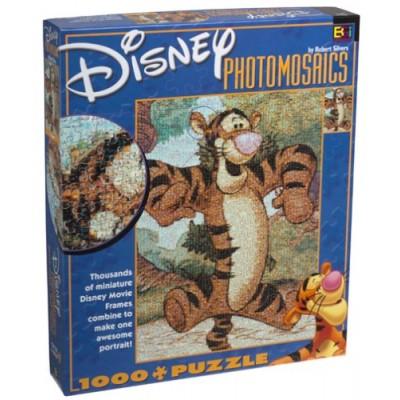 Disney Photomosaic Tigger 1000 Piece Jigsaw Puzzle