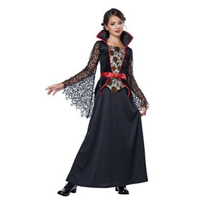 California Costumes Countess Bloodthorne Child Costume, Medium