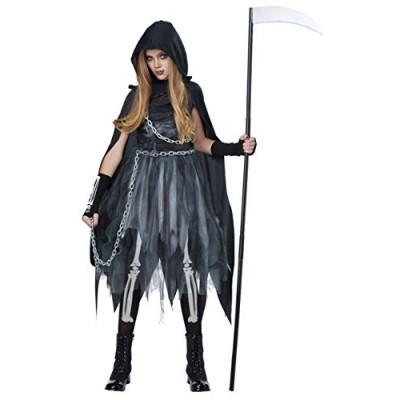 California Costumes Reaper Girl Child Costume (L)