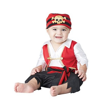 Pee Wee Pirate Baby Costume, 12-18 Months