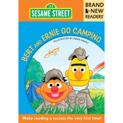Bert and Ernie Go Camping: Brand New Readers (Sesame Street Books)