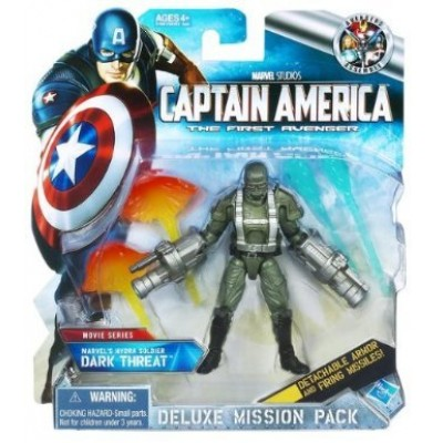 Captain America the First Avenger Movie Series: Deluxe Mission Pack Marvel's Hydra Soldier Dark Threat