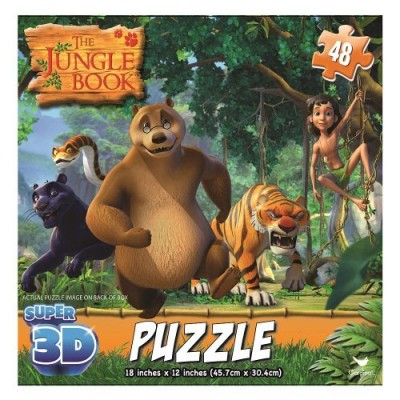 Jungle Book Super 3D Puzzles by Cardinal