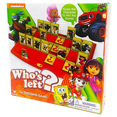 Nickelodeon Who's Left Game by Cardinal