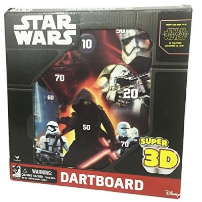 Star Wars Episode VII Super 3D Magnetic Dartboard by Cardinal