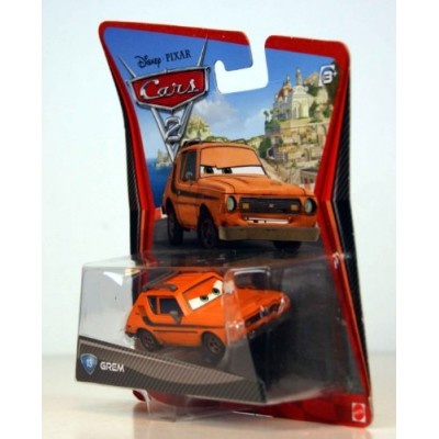 Disney/Pixar Cars 2 Movie Die-Cast Vehicle, Grem #13, 1:55 Scale