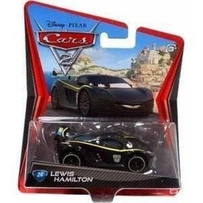 Disney/Pixar Cars 2 Movie Lewis Hamilton #24 1:55 Scale