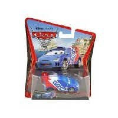 Disney Pixar Cars 2 Raoul Caroule #9
