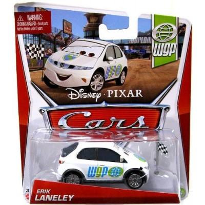 Disney/Pixar Cars, WGP (World Grand Prix) Die-Cast Vehicle, Erik Laneley #9/17, 1:55 Scale
