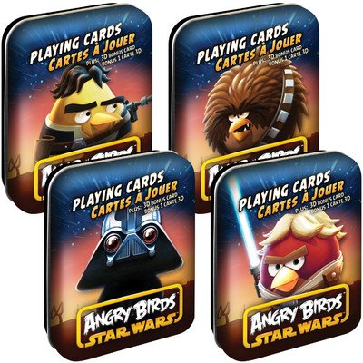 Angry Birds Star Wars Playing Cards Assorted Characters